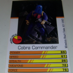 Action Man Power Cards 1996 Cobra Commander Trading card @sold@